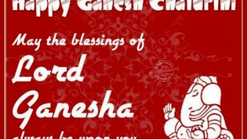 Happy Ganesha Chaturthi (गणेश चतुर्थी) 2014 HD Wallpapers, Images, Wishes For Pinterest, Instagram