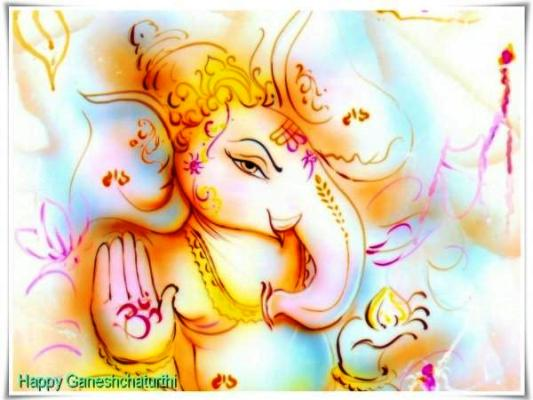 Happy Vinayaka Chaturthi 2014 HD Images, Facebook Cover Pics, Wallpapers Free Download