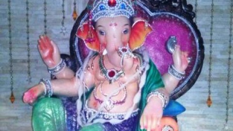 Top 3 Cute Happy Vinayaka Chaturthi 2014 Images, Pictures, Photos, Wallpapers