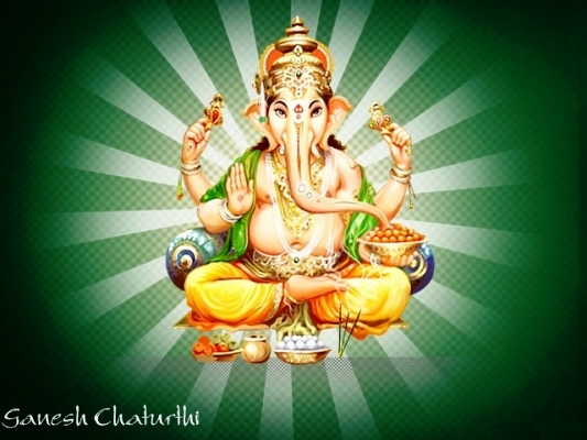 Ganesh Chaturthi Pictures - Photos, Wallpapers, Greetings 2014