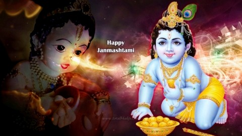 Top 10 Amazingly Beautiful Happy Sree Jayanti 2014 Images, Wallpapers, Photos, Pictures For Facebook And WhatsApp