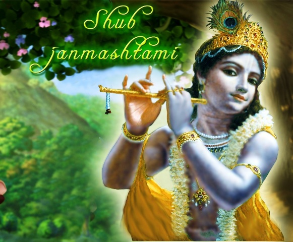 Happy 5241th Birth Anniversary of Lord Krishna 2014 HD Images, Pictures, Greetings, Wallpapers Free Download