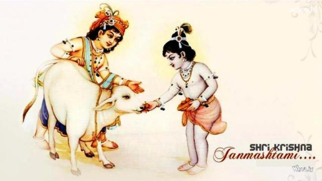 Top 10 Amazingly Beautiful Happy Srikrishna Jayanti 2014 Images, Wallpapers, Photos, Pictures For Facebook And WhatsApp