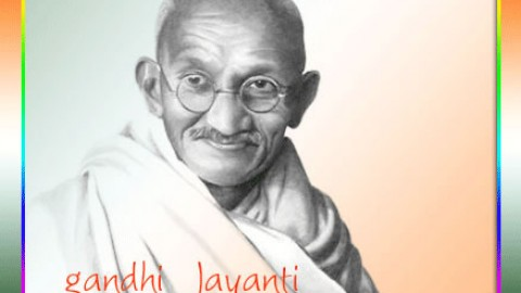 Happy Gandhi Jayanti 2014 SMS, Text Messages, Wishes, Facebook Status Free Download