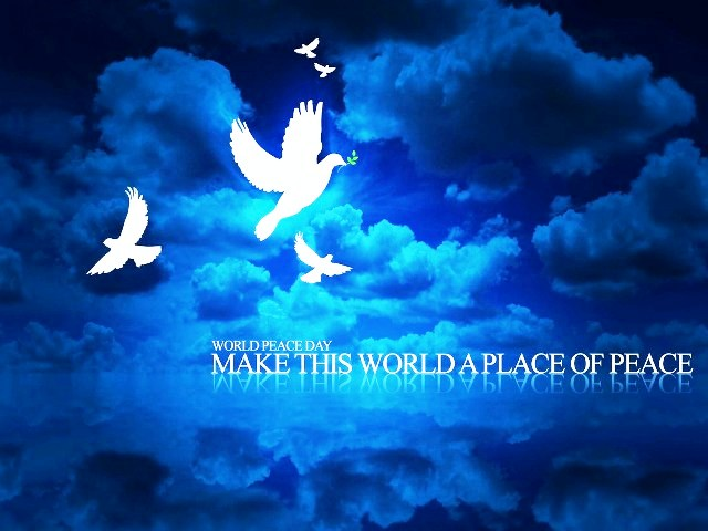 Happy International Day of Peace 2014 HD Images, Wallpapers Free Download
