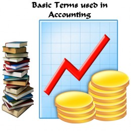 basic terms used in accounts