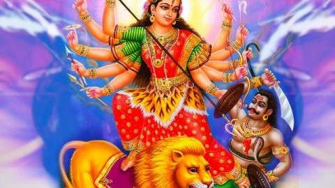 Happy Navadurga Puja 2014 HD Images, Greetings, Wallpapers Free Download
