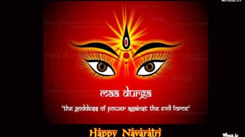 Happy Navadurga Puja 25 September 2014 HD Images, Pictures, Greetings, Wallpapers Free Download