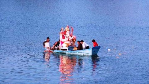 Happy Ganesh Visarjan / Anant Chaturdashi 2014 HD Images, Greetings, Wallpapers Free Download