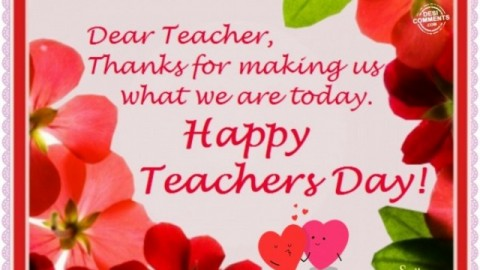 Teacher's Day Pictures, Images, Graphics for Facebook, WhatsApp 2014