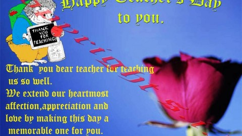 Happy Teachers' Day 2014 (Wishes) Wallpapers HD Images 5th September Free Download