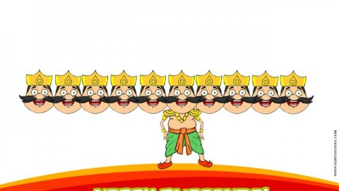 Dussehra Celebrations 2014 Facebook Greetings, WhatsApp Messages, Status, SMS
