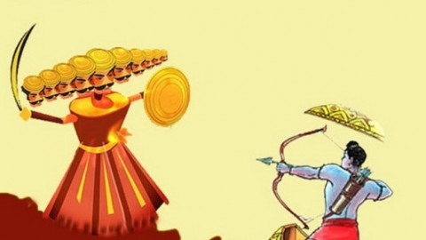 Dasara 2014 Facebook Greetings, WhatsApp HD Images, Wallpapers