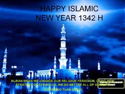 islamic new year 1