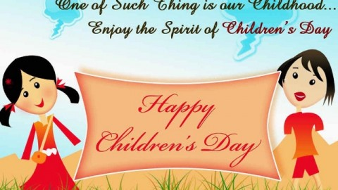 Children's Day 2014 Facebook Greetings, WhatsApp HD Images, Wallpapers, Scraps
