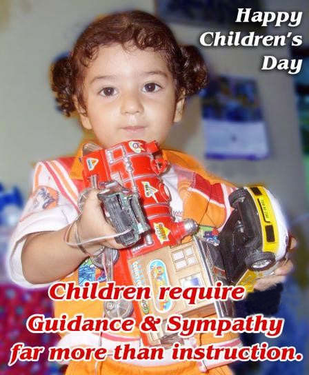 Children's Day 14 November 2014 SMS, Slogans, Quotes in English
