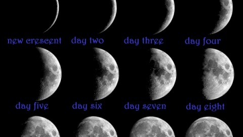 2014 November New Moon Images, Wallpapers For WhatsApp, Facebook