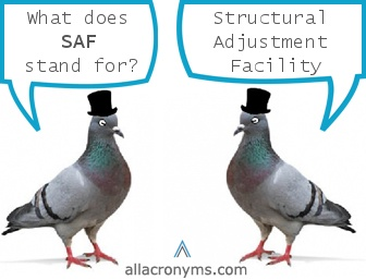 What Is Structural Adjustment Facility (SAF)?