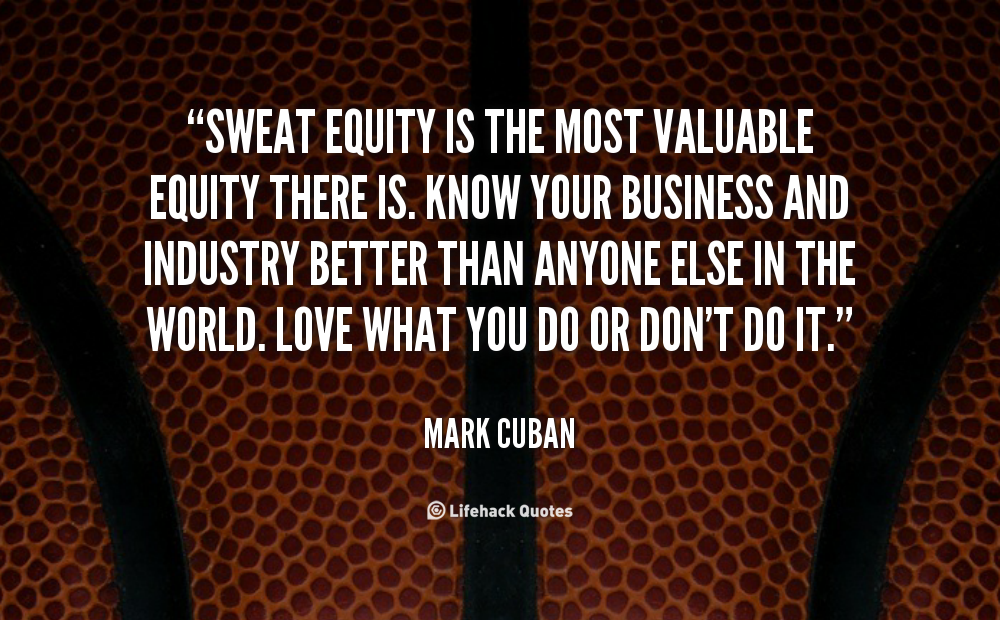 What is the meaning of Sweat Equity Share?