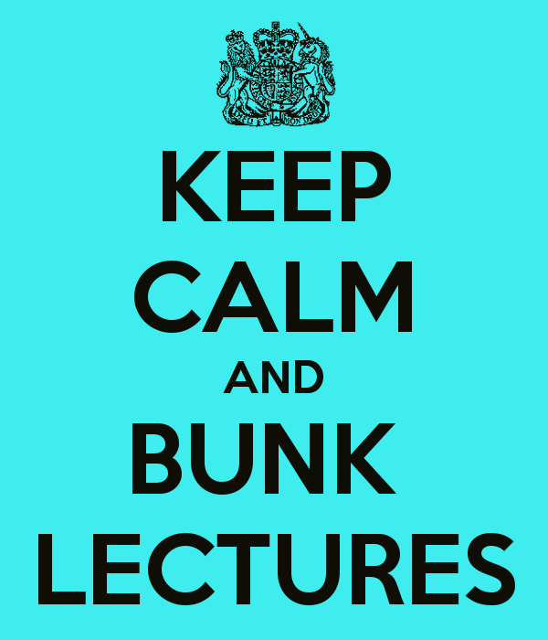 Top 10 Serious Excuses That Will Help You Bunk Lectures Easily & Enjoy College Life