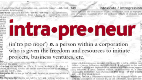 Explain The Concept of Intrapreneurs