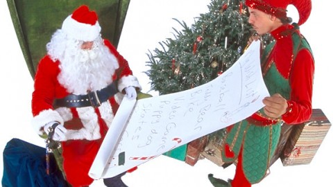 Happy Santas' List Day 2014 Facebook Greetings, WhatsApp Images, Wallpapers