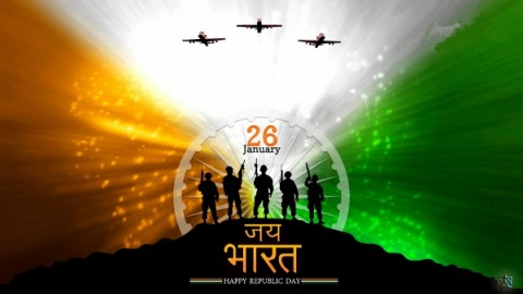 Indian Republic Day 2015 Facebook Greetings, WhatsApp HD, Images, Wallpapers