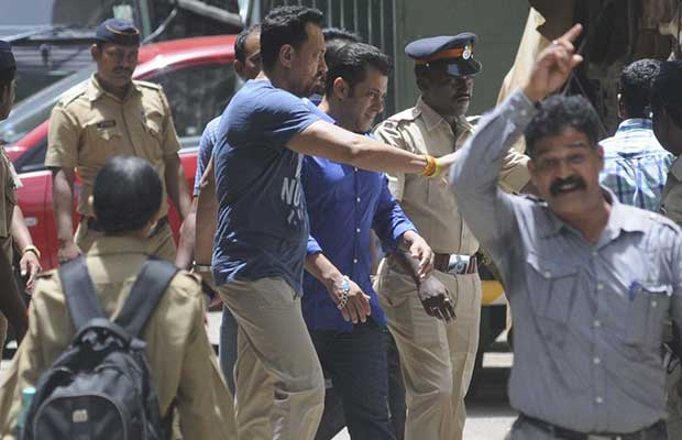 Salman while visiting the court.