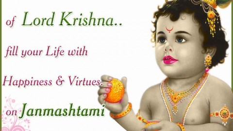 Celebrate Janmashtami 2015 With Awesome SMS & Wallpapers For Facebook, WhatsApp
