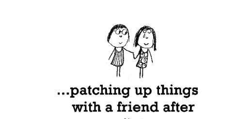 patching up with friends