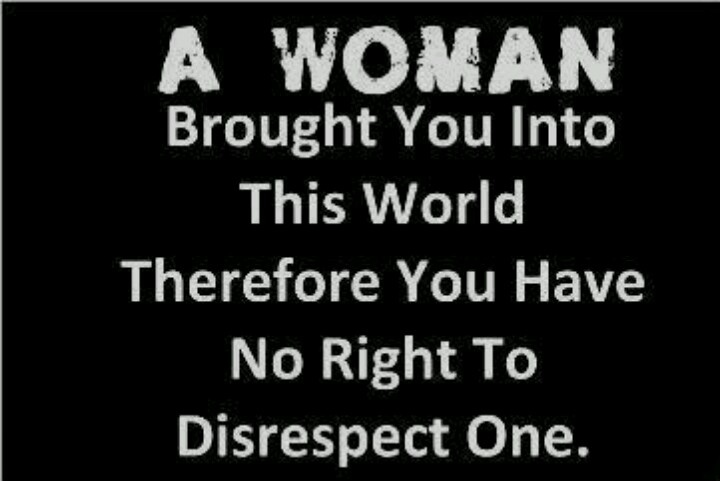 Do You Know Why Should We Respect Women?