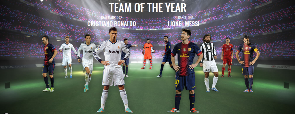 Last 14 'UEFA Teams Of The Year' That You Should Definetly Know About