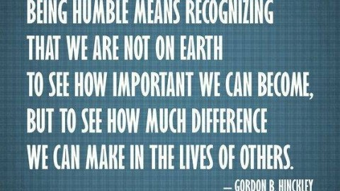 6 Simple Ways To Be Humble And Not Selfish