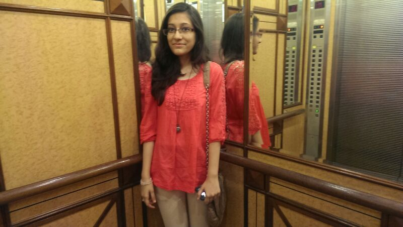 Interview with Tasneem Patanwala, FYBMS Student 2014, Jai Hind College