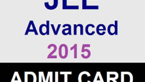 JEE Advanced 2015 Admit Cards Released: Know How to Download