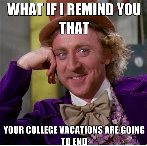 college vacations