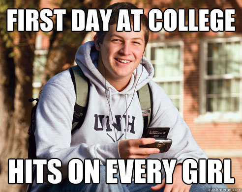 First Day at College Funny Photos  (3)