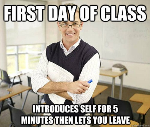 First Day at College Funny Photos  (4)