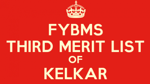 FYBMS Cutoff 2015 Third Merit List of V.G. Vaze (Kelkar) College