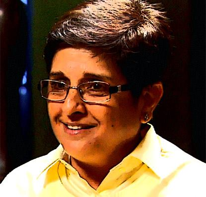 10 Superb Photos Of Kiran Bedi That You Have Never Seen Before