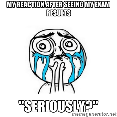 Reaction After Exam Results Images  (3)