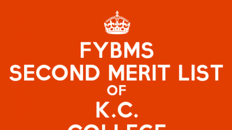FYBMS Cutoff 2015 Second Merit List of K.C. College