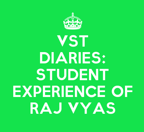 VST Diaries: The Story of Raj Vyas, TYBMS Student of K.E.S. Shroff College