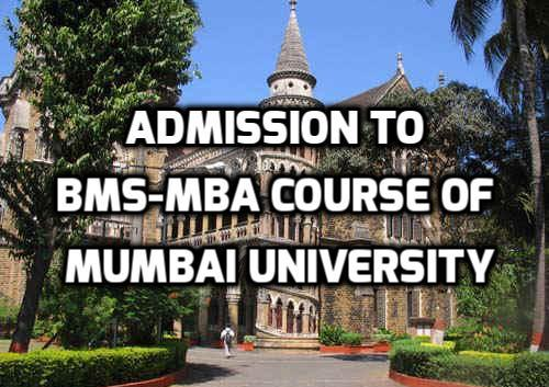Admission Details Of 5 Year Integrated Programme in Management (BMS-MBA)