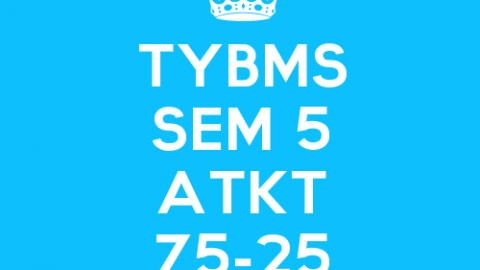 TYBMS Sem 5 CBSGS 75:25 April 2015 ATKT Exam Results Declared on 17 July 2015