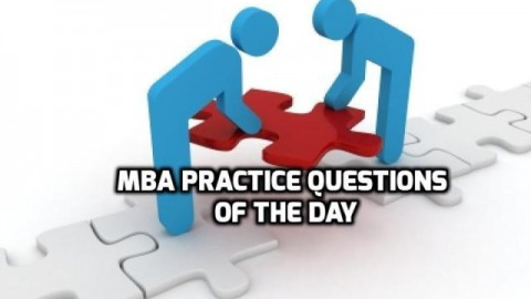 MBA Practice Questions Of The Day – Alphabet Series