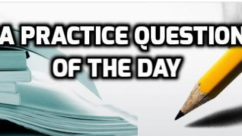 MBA Practice Questions Of The Day – Find The Odd Man Out