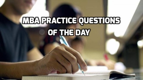 MBA Practice Questions Of The Day – Number Series
