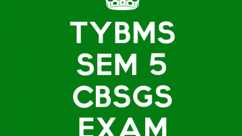 TYBMS Sem 5 CBSGS 60:40 & 75:25 November 2015 Examination Timetable