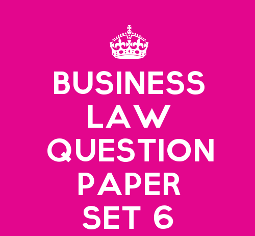 business law set 6